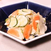 いろいろ野菜のゆず胡椒マヨ和え