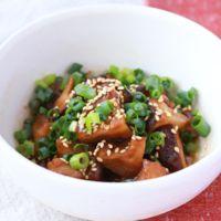 レンジですぐできる 椎茸のしみしみ煮