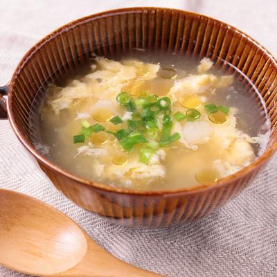 長芋でとろとろ 中華卵スープ
