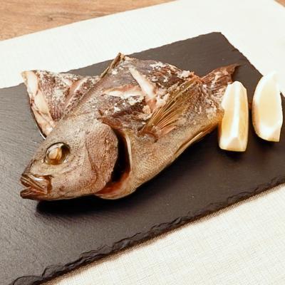 オーブンで焼く イサキの塩焼き