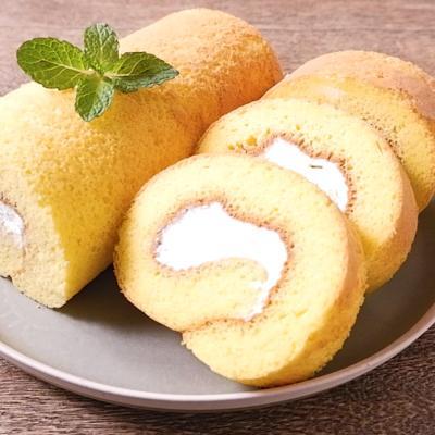 米粉で作るロールケーキ