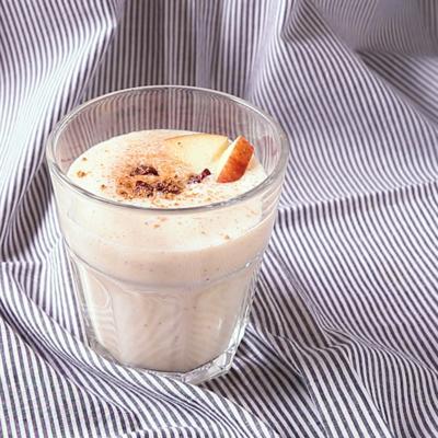 シナモン香る りんご豆乳スムージー