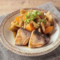 ぶりと根菜たっぷりの煮物