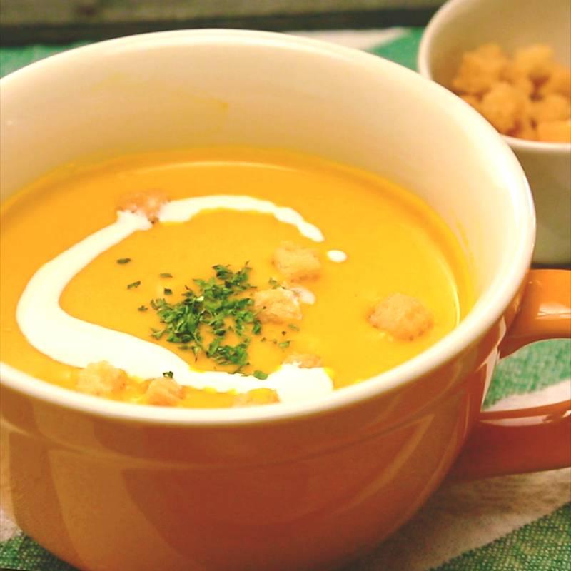 カボチャ スープ