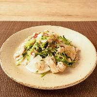 味付け簡単!大根と鶏挽きのシャンタン炒め