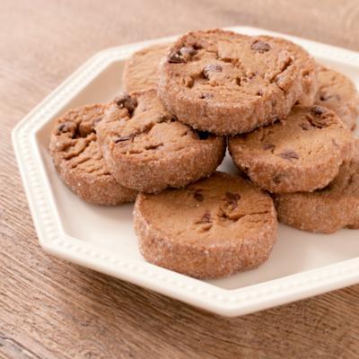 板チョコを練りこんだ ダブルチョコレートクッキー