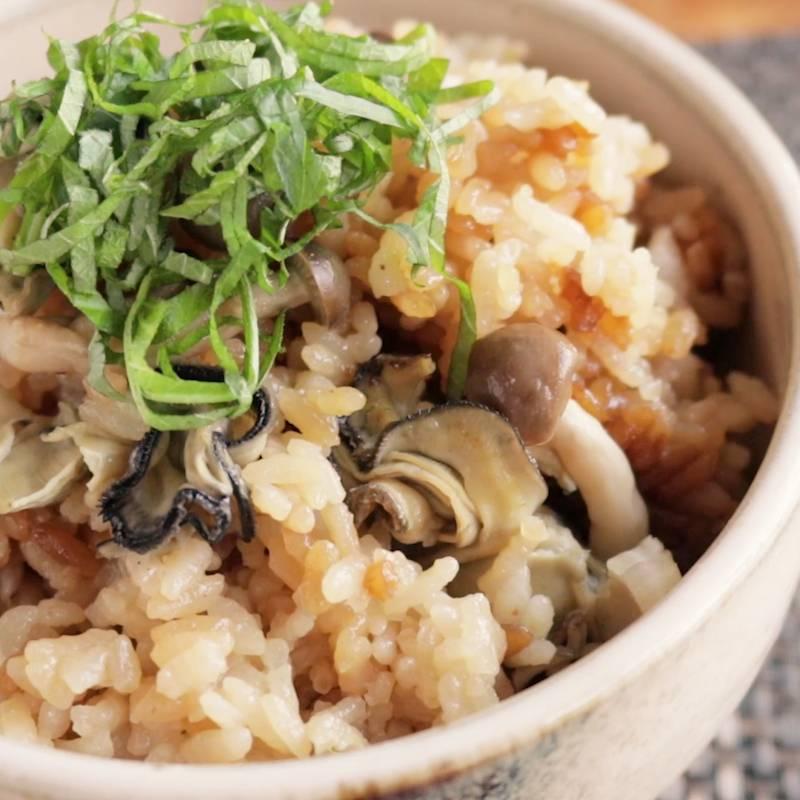 牡蠣 ご飯 レシピ プロが教える牡蠣ごはん(炊き込みご飯)の作り方。旨みたっぷりのコ...