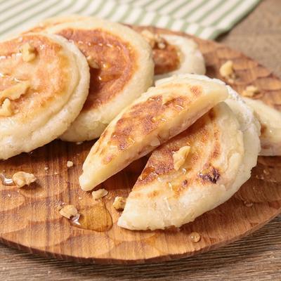 白玉粉でもちもち ハニーチーズナッツのホットク