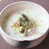 お手軽 白菜のクリームスープ