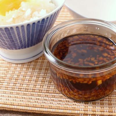 簡単 生姜たっぷり卵かけご飯のたれ