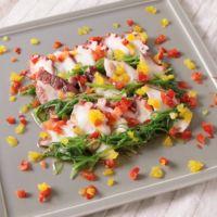 タコとおかひじきの和風サラダ