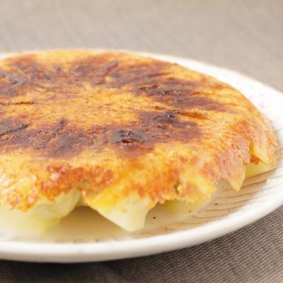 パリパリチーズの羽根つき カレー餃子