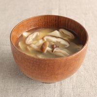 きのこと豆腐のお味噌汁