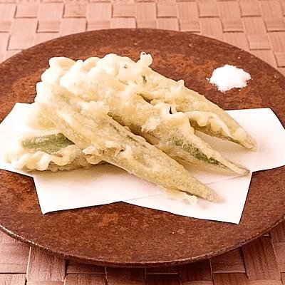 天ぷら粉で簡単 オクラの天ぷら