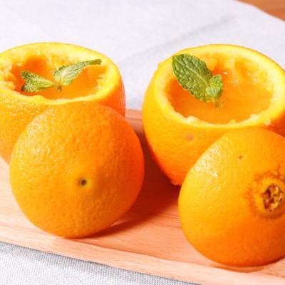 材料3つで!オレンジ丸ごとフレッシュゼリー
