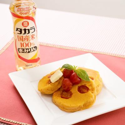 簡単!モチモチ!みりんトマトのベジホットケーキ