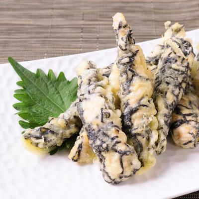 ささみの海苔まぶし天ぷら