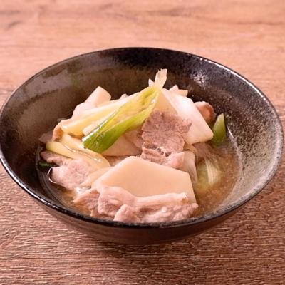 ゆず胡椒香る 里芋と豚バラ肉の煮物