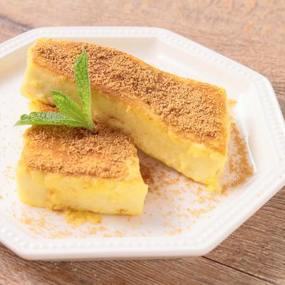 高野豆腐でふんわりミニフレンチトースト風