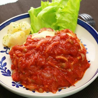 トマトチキンソテー