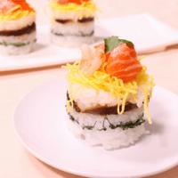 おもてなしにも!ミニちらし寿司