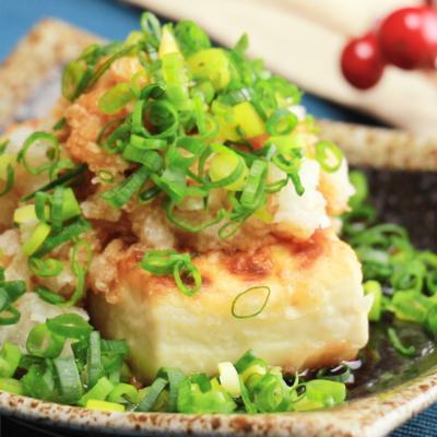 お手軽 おろしポン酢の豆腐ステーキ