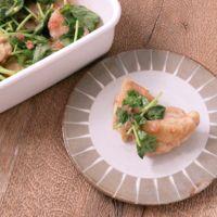 常備菜に さっぱり鶏もも肉の梅ソースがけ