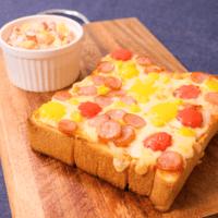 お子様と一緒に楽しく作ろう!ちぎりパン風ピザトースト