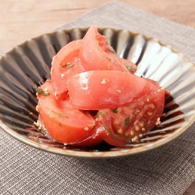 さっぱり トマトの大葉和え
