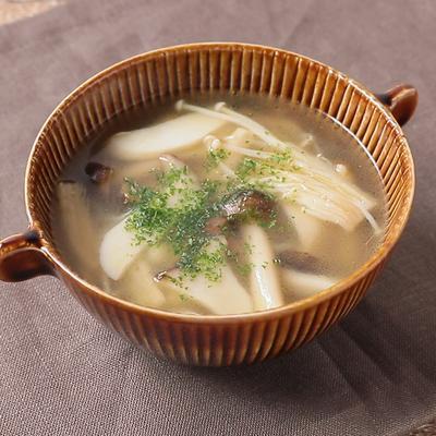 キノコの簡単スープ