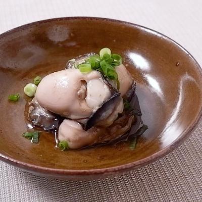 牡蠣のゆず胡椒和え