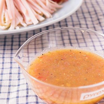 冷やし中華のタレ イタリアン風味
