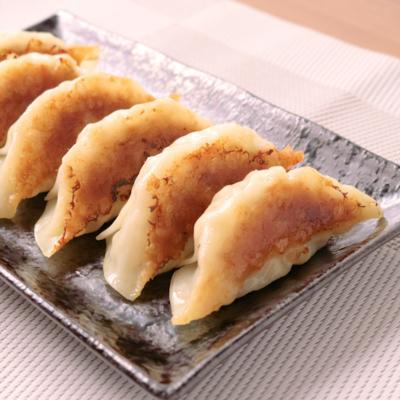 豆腐でかさ増し ふわふわ餃子