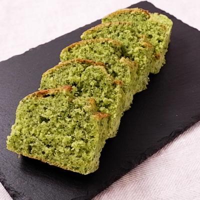 小松菜のパウンドケーキ