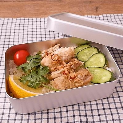 タイのカオマンガイ風弁当