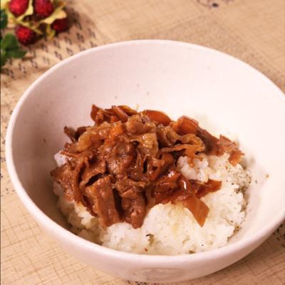 白飯おかわり!牛肉と舞茸の佃煮
