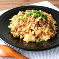 豚ひき肉と納豆の甘辛チャーハン