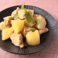 レンジで簡単 鶏肉とじゃがいもの煮物