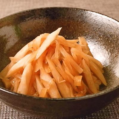 大根とごぼうの甘辛炒め