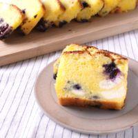 クリームチーズとブルーベリーのパウンドケーキ