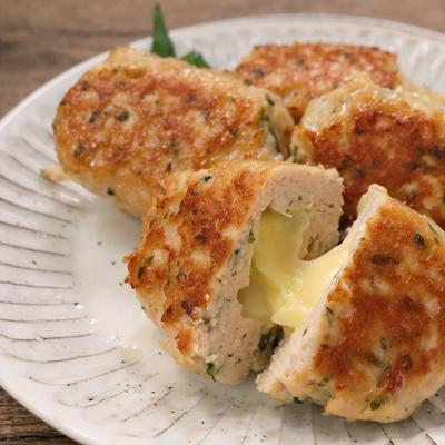 大葉香る チーズ鶏つくね