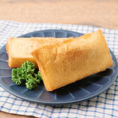 カレーをリメイク 揚げ食パン
