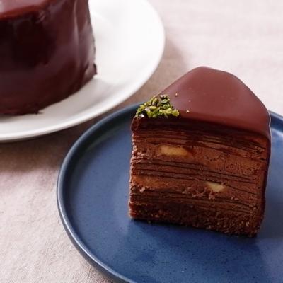 濃厚 チョコバナナミルクレープ