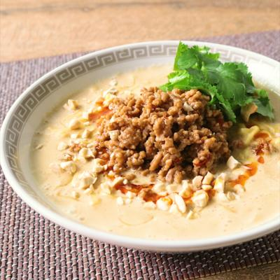 インスタント麺で作る 花椒担々麺