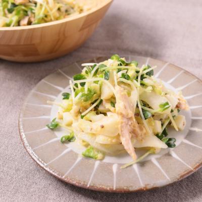 低糖質 たっぷり白菜と卵のタルタルサラダ