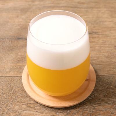 まるでビール!? オレンジミルクゼリー