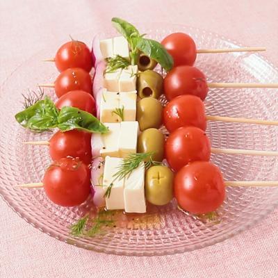 ギリシャ風サラダのピンチョス