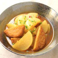 さつま揚げと大根の韓国風煮物