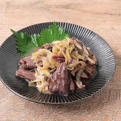 牛ハラミと香味野菜炒め