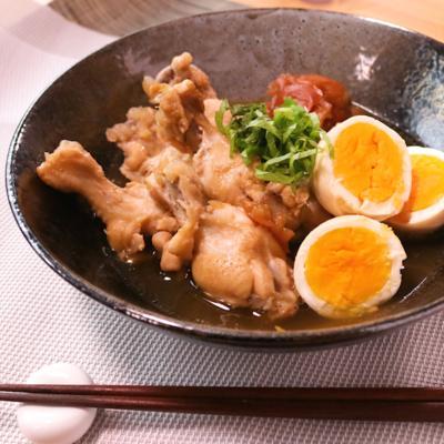さっぱりクセになる 鶏の手羽元の梅煮